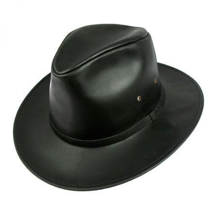 Safari Leather Hat - 3X