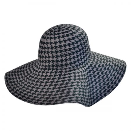 San Diego Hat Company Houndstooth Floppy Hat