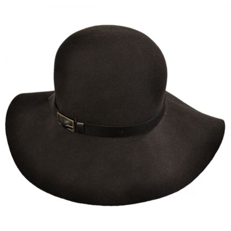 San Diego Hat Company Leather Band Floppy Hat