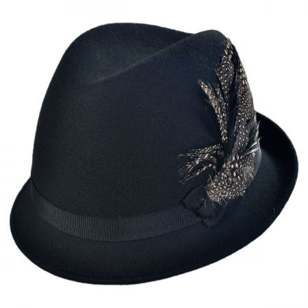 San Diego Hat Company Side Feather Fedora Hat