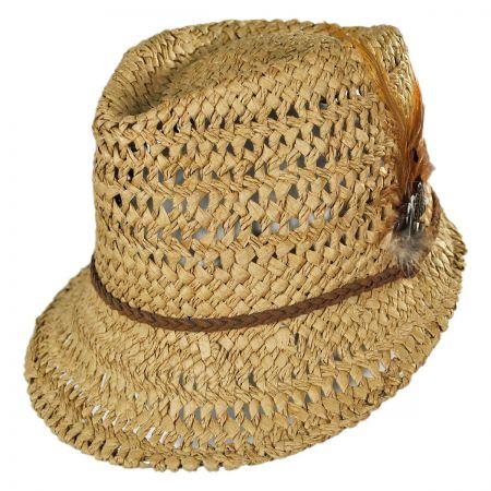 San Diego Hat Company Straw Admiral Cap Hat