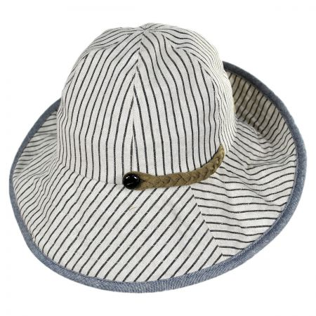 San Diego Hat Company Packable Striped Bucket Hat