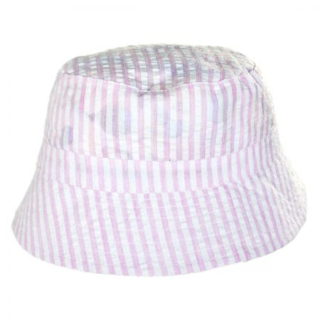 San Diego Hat Company Gingham Infant Bucket Hat