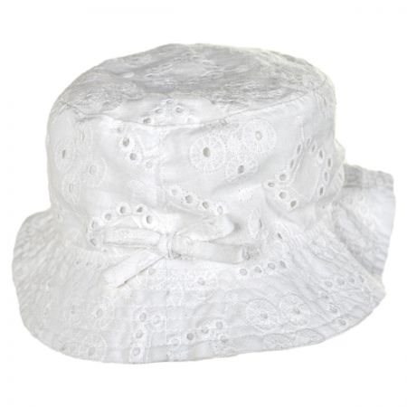 San Diego Hat Company Eyelet Infant Bucket Hat