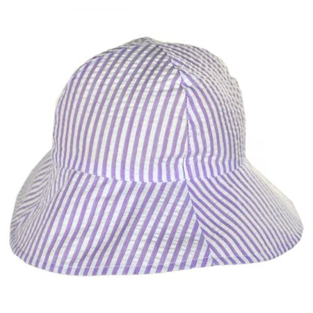 San Diego Hat Company Seersucker Infant Bucket Hat