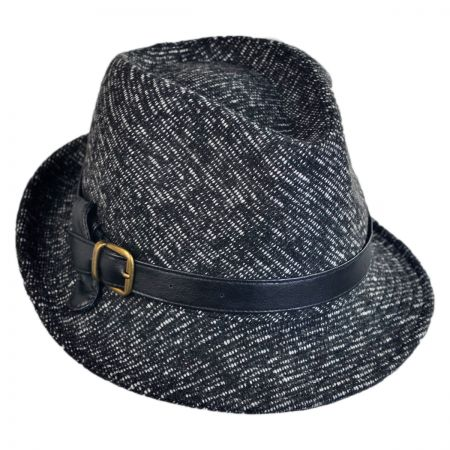 San Diego Hat Company Knot Band Tweed Fedora Hat