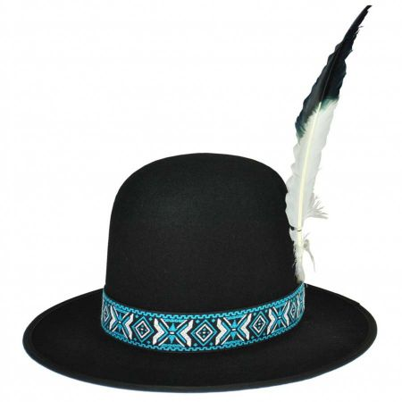 Indian Hat with Plume
