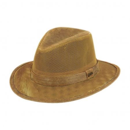 Webster Leather Outback Hat