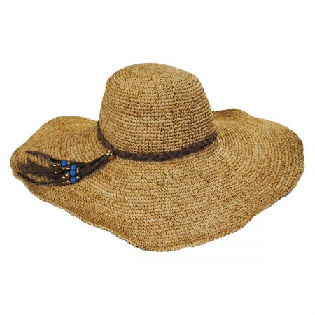 ale by Alessandra Dunas Suede Braid Sun Hat