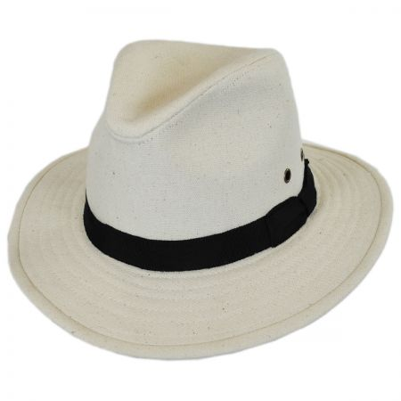 ale by Alessandra Skyler Canvas Safari Fedora Hat
