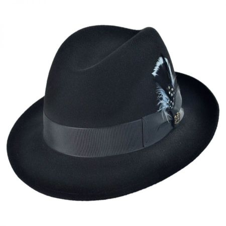 Georgia Fur Felt Fedora Hat