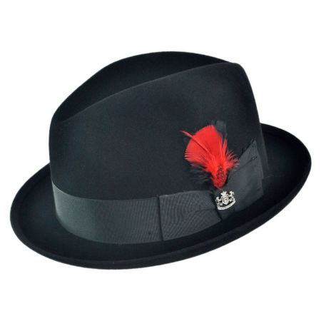 New York Fur Felt Fedora Hat