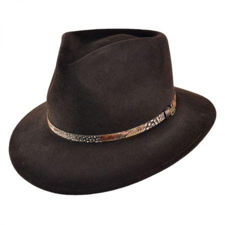 Palermo Safari Fur Felt Fedora Hat
