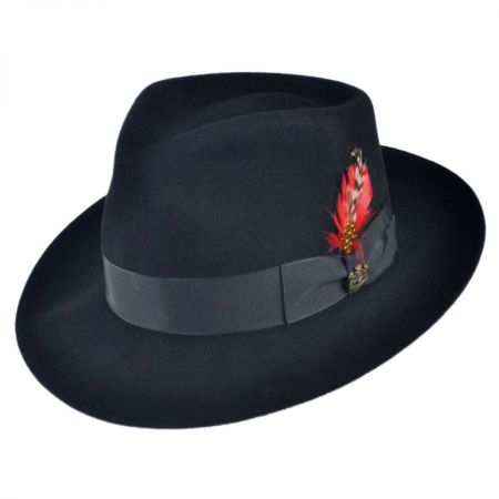 Sanford Fur Felt Fedora Hat