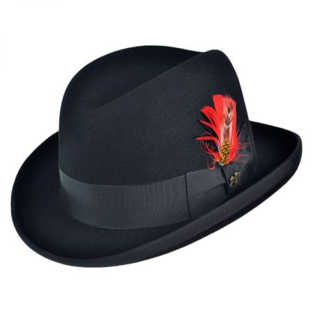 Winston Fur Felt Homburg Hat