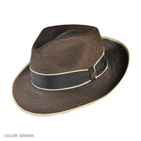 Veneto C-Crown Fedora Hat