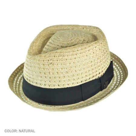Biltmore Diamond Crown Aircool Brisa Fedora Hat