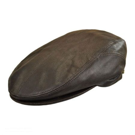 Stetson Quilcene Leather Ivy Cap
