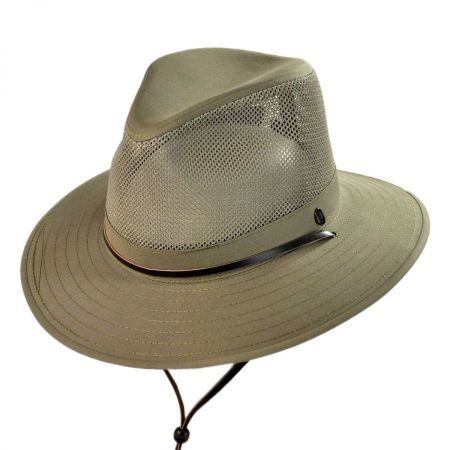 Mesh Crown Aussie Hat
