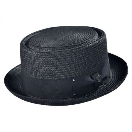 Jaxon Hats Toyo Straw Braid Pork Pie Hat