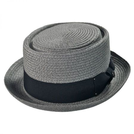 Toyo Straw Braid Pork Pie Hat alternate view 6