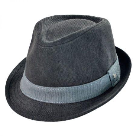 EK Collection by New Era Aurora Cotton Fedora Hat