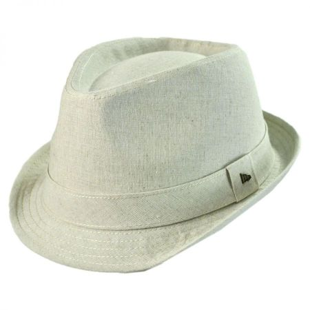 EK Collection by New Era Carden Linen Fedora Hat