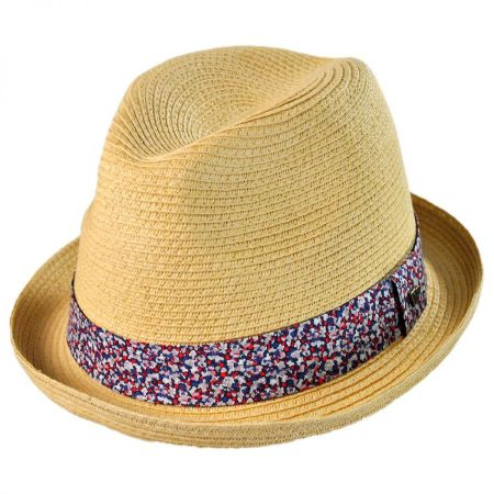 EK Collection by New Era Thea Rolled Brim Fedora Hat