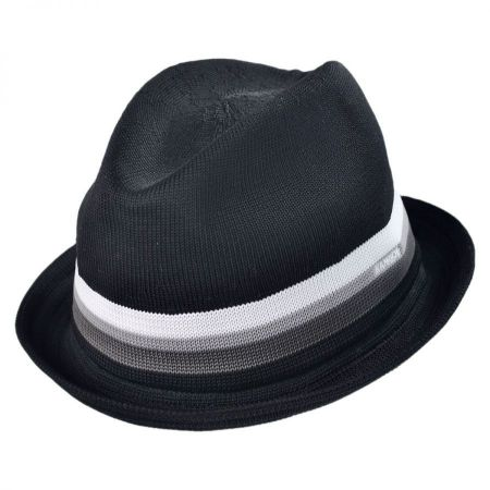 Kangol Stripe Player Fabric Fedora Hat