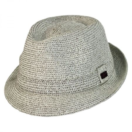 Billy Toyo Straw Braid Fedora Hat alternate view 1