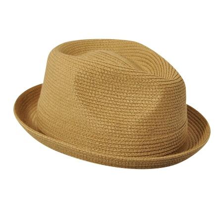 Billy Toyo Straw Braid Fedora Hat alternate view 3