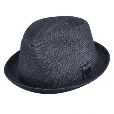 Billy Toyo Straw Braid Fedora Hat alternate view 4