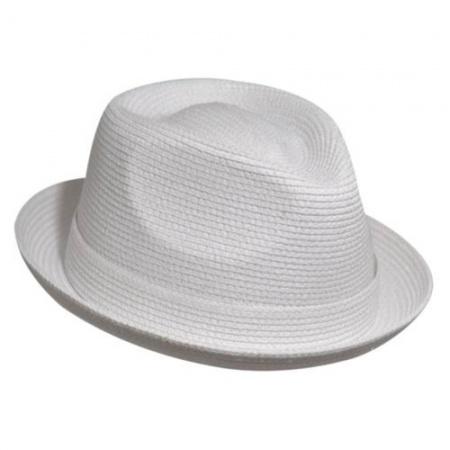 Billy Toyo Straw Braid Fedora Hat alternate view 5