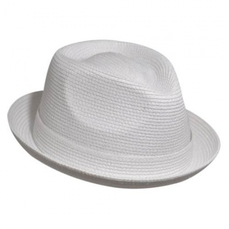 Billy Toyo Straw Braid Fedora Hat alternate view 10