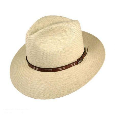 Cutler Panama Straw Fedora Hat
