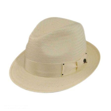 Suntino Toyo Straw Fedora Hat alternate view 1