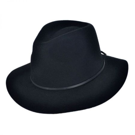 Wesley Wool Felt Floppy Fedora Hat alternate view 7