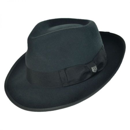 Elijah Wool Felt Classic Fedora Hat