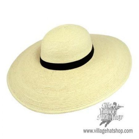Swinger 5-inch Wide Brim Guatemalan Palm Leaf Straw Hat alternate view 8