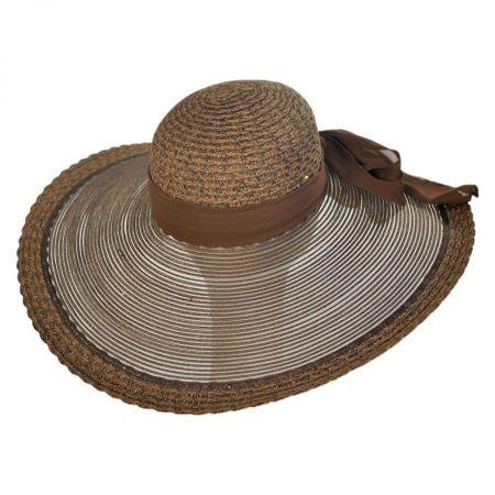 Sheer Brim Swinger Hat