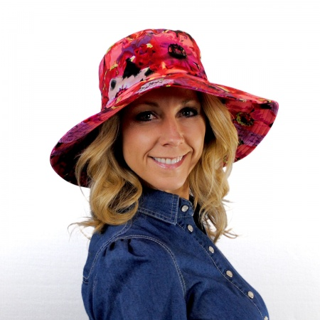 sur la tete Saint Tropez Cotton Sun Hat