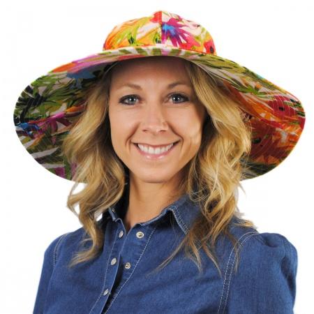 sur la tete Jardin Cotton Sun Hat