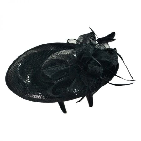 Jeanne Simmons Sequin Dish Fascinator