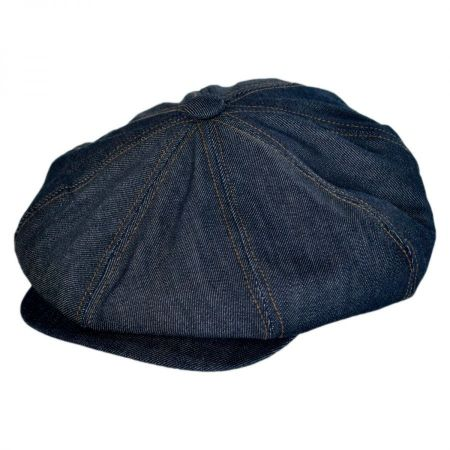 Denim Newsboy Cap