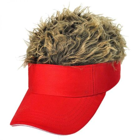 Flair Hair Red Visor