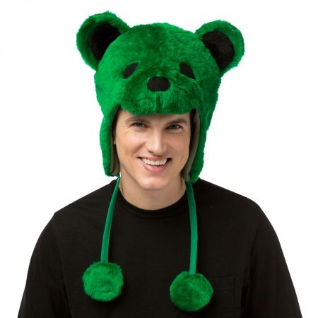 Rasta Imposta Greatful Dead Bear Hat