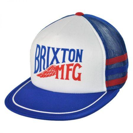 Brixton Hats Lorry Snapback Baseball Cap