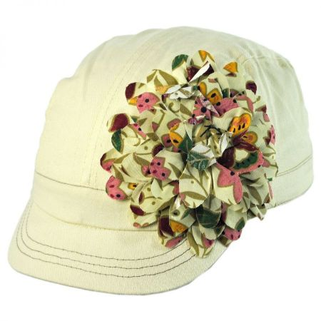 Jeanne Simmons Child's Flower Cap