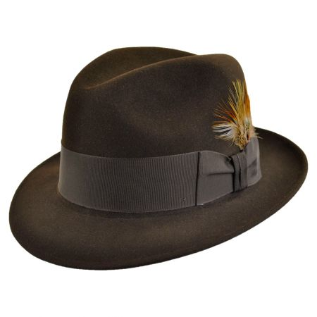 Saxon Royal Fur Felt Fedora Hat alternate view 298