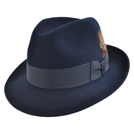 Saxon Royal Fur Felt Fedora Hat alternate view 156